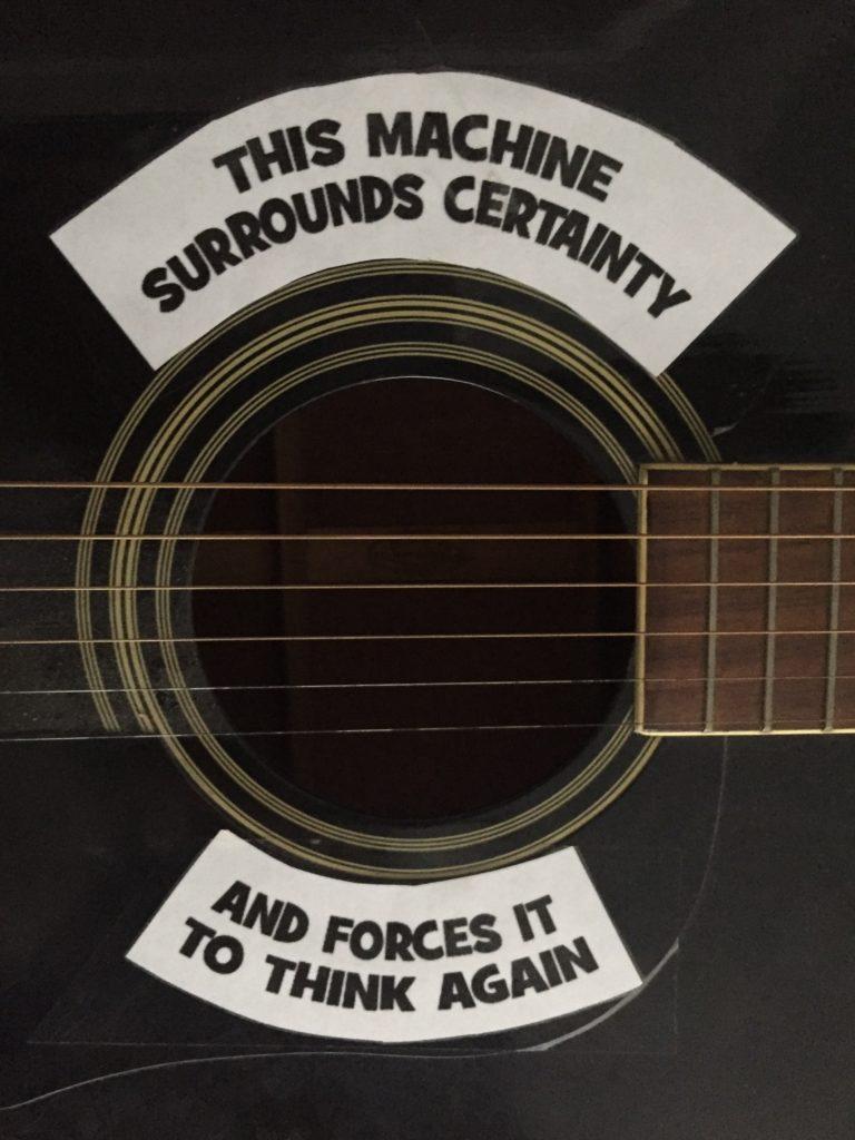 guitar sound hold